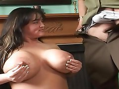 Big Boobs, Blowjob, Brunette, Mature