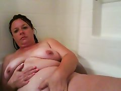 Amateur, BBW, Big Boobs, Mature, Shower