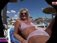 German, Interracial, Close Up, Beach