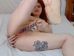 Amateur, Big Boobs, Double Penetration, Redhead, Webcam