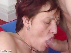 Granny, Hairy, Hardcore, Mature, Saggy Tits