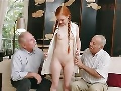Mature, Old and Young, Threesome