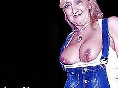 Mature, MILF, Granny, Big Nipples
