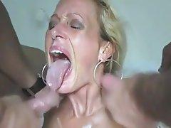 Amateur, Big Boobs, Cum in mouth, Mature