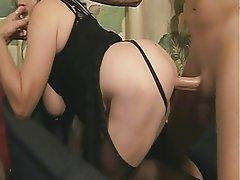 Blowjob, Group Sex, Mature, BBW, Big Boobs