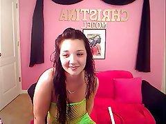 Big Boobs, Lingerie, Masturbation, Webcam