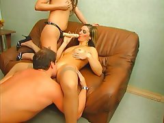 Creampie, Mature, Russian, Strapon, Threesome