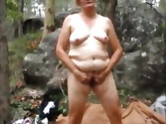 African, Amateur, Granny, Outdoor