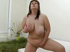 Babe, BBW, Masturbation, Big Tits, Chubby