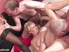 Hardcore, Big Boobs, Group Sex, MILF, German