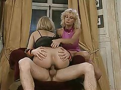 Anal, Double Penetration, German, Threesome, Vintage