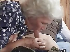 Cumshot, Granny, Hardcore, Mature, Old and Young