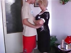 Blowjob, Granny, Mature, MILF, Old and Young