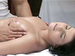 Babe, Big Cock, Massage, Mature