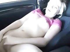Blonde, Close Up, Masturbation, Small Tits
