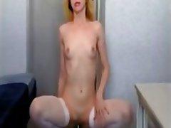 Close Up, Masturbation, Small Tits