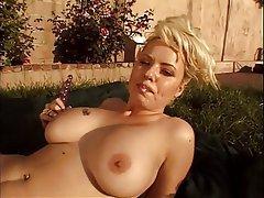 Masturbation, Big Boobs, Blonde, Mature