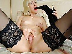 Foot Fetish, MILF, Mature, Blonde