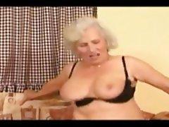 Blonde, Blowjob, Cumshot, Granny, Mature