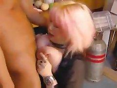 Big Boobs, Blonde, Mature, Piercing, Russian