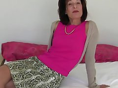 Masturbation, Mature, Stockings