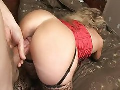 Anal, Big Boobs, Double Penetration, Mature, Stockings