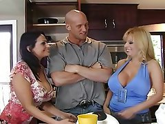 Big Boobs, Mature, MILF, Pornstar, Threesome
