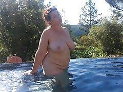 BBW, Big Boobs, Big Butts, Mature, Outdoor
