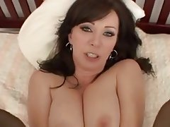 Big Boobs, Brunette, Creampie, Mature, MILF