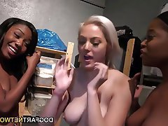 Big Boobs, Interracial, Lesbian