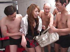 Asian, Brunette, Hairy, Japanese, Squirt